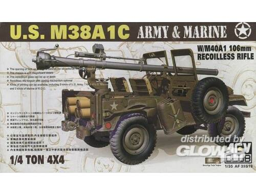 AFV Club JEEP M38 w/106 mm GUN 1:35 (AF35S19)