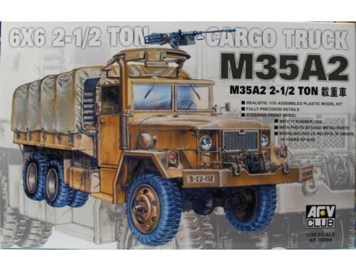 AFV Club M35A2 2 1/2T Cargo Truck (RE-Produktion) 1:35 (AF35004)