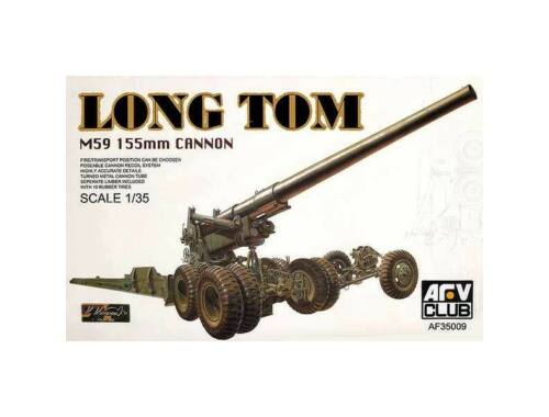 AFV Club 155mm LONG TOM canon 1:35 (AF35009)