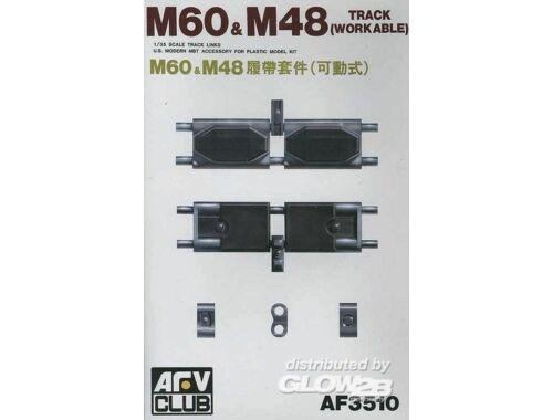 AFV Club TRACKS T142 (M48/60) 1:35 (AF35010)