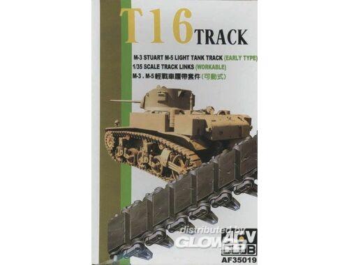AFV Club TRACKS M3/M5 RUBBER 1:35 (AF35019)