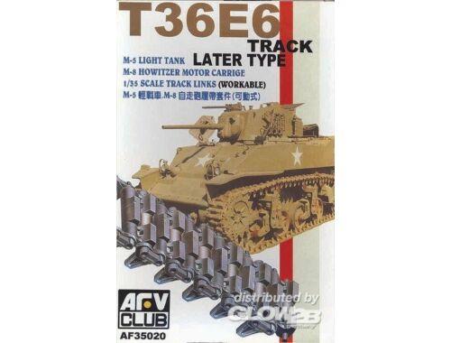 AFV Club TRACKS M3/M5 Workable Track T36E6 1:35 (AF35020)