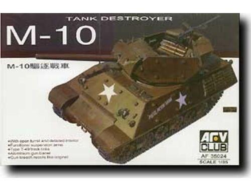 AFV Club M 10 U.S. Army Tank Destroyer 1:35 (AF35024)