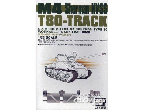 AFV Club SHERMAN HVSS T80 Tracks 1:35 (AF35032)