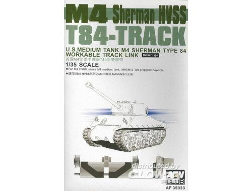 AFV Club M4 Sherman HVSS T84-Track 1:35 (AF35033)