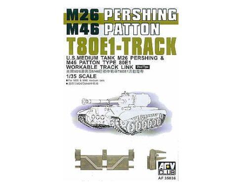 AFV Club T-80E1 PERSHING TRACKS 1:35 (AF35036)