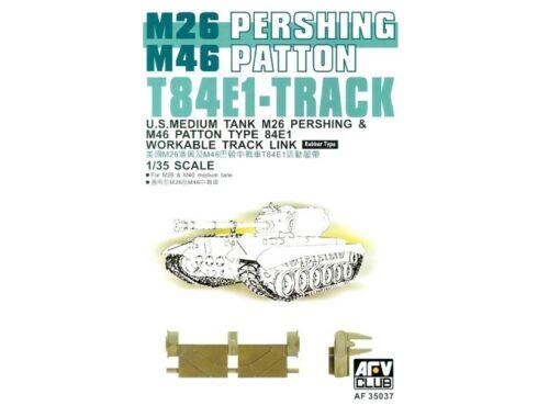 AFV Club T-84E1 PERSHING TRACKS 1:35 (AF35037)