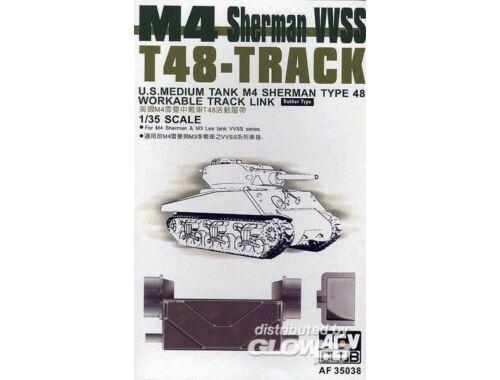 AFV Club T-48 SHERMAN TRACKS (ARTICULATED) 1:35 (AF35038)