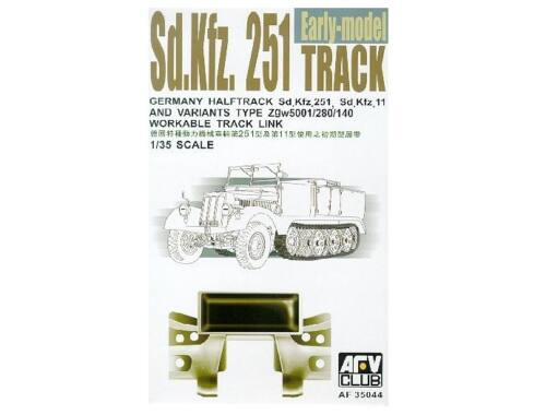 AFV Club SDKFZ 251 TRACKS (ARTICULATED) 1:35 (AF35044)