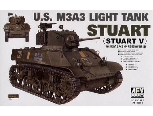 AFV Club M3A3 STUART 1:35 (AF35053)