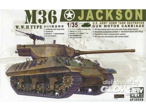 AFV Club M36 TANK DESTROYER 1:35 (AF35058)