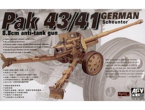 AFV Club 8,8 cm PAK 43/41 ANTITANK GUN 1:35 (AF35059)