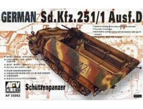 AFV Club SDKFZ 251 D/1 HALF TRACK 1:35 (AF35063)