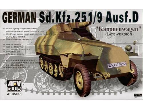 AFV Club SDKFZ 251 D/9 75 mm 1:35 (AF35068)