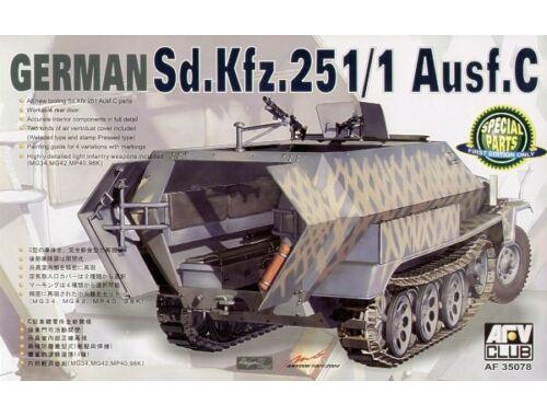 AFV Club SDKFZ 251/1 Ausf.C 1:35 (AF35078)