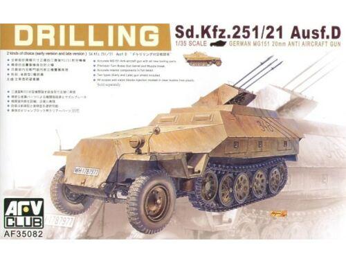 AFV Club SDKFZ 251/21 DRILLING 1:35 (AF35082)
