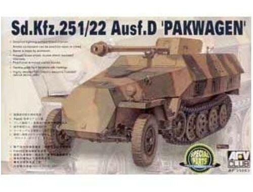 AFV Club SDKFZ 251/22 AUSF D PAK40 1:35 (AF35083)