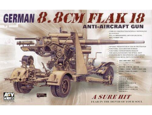 AFV Club 8,8 cm FLAK 18 1:35 (AF35088)