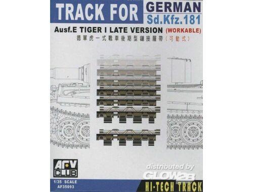 AFV Club TRACKS TIGER I LATE (ARTICULATED) 1:35 (AF35093)