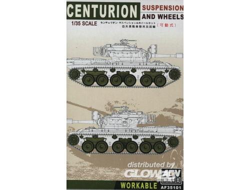 AFV Club Centurion Suspension and wheels 1:35 (AF35101)