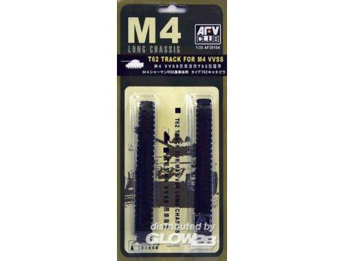 AFV Club T-62 TRACKS (M4A4) 1:35 (AF35104)