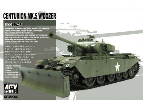 AFV Club Centurion Mk V w/Dozer Blade 1:35 (AF35106)
