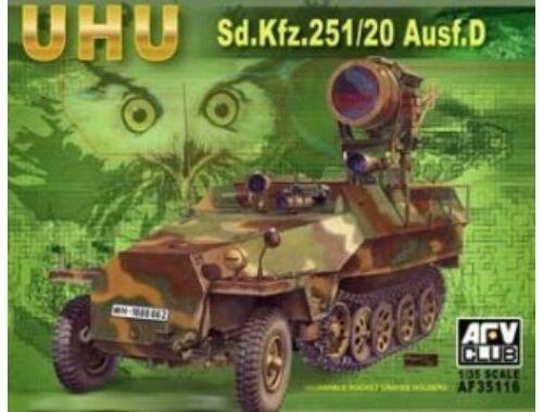 AFV Club SDKFZ 251/20 AUSF D ''UHU'' 1:35 (AF35116)