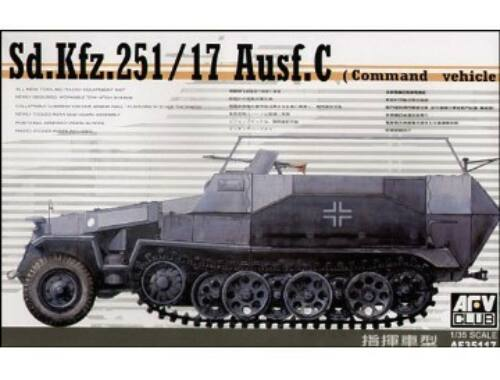 AFV Club SDKFZ 251/17 COMMAND 1:35 (AF35117)
