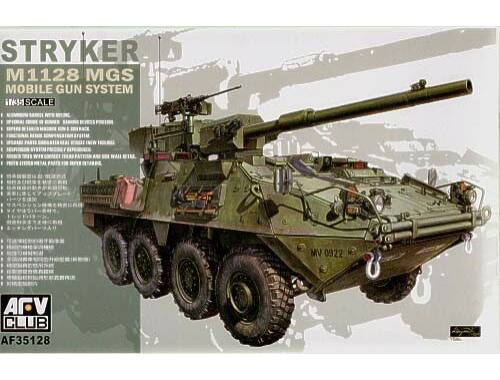 AFV Club STRYKER w/105mm gun MGS 1:35 (AF35128)