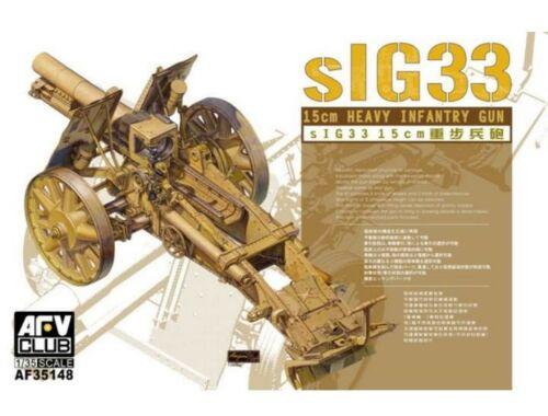 AFV Club SiG33 15cm Heavy Infantry gun 1:35 (AF35148)