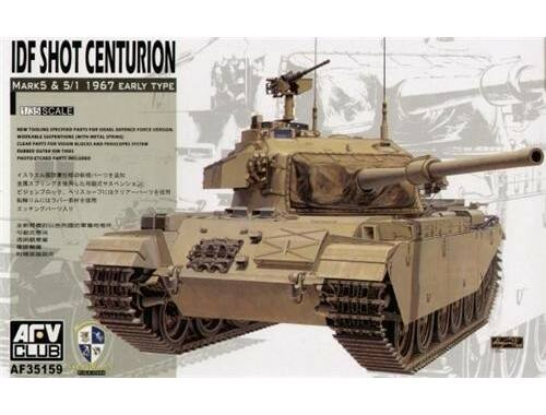AFV Club IDF Shot Centurion Mark 5   5/1 1967 Early Type 1:35 (AF35159)