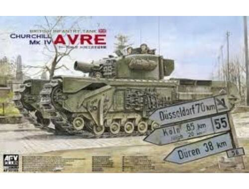 AFV Club Churchill MK IV AVRE (w/vinyl   work.tr. 1:35 (AF35169)