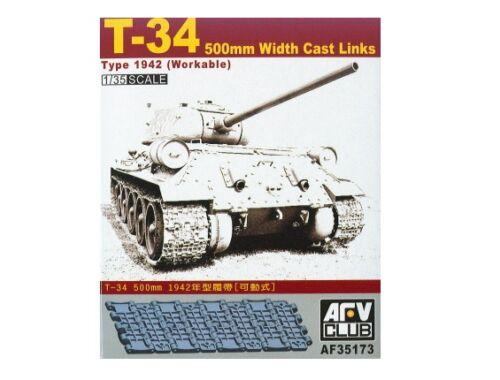 AFV Club T-34 50cm cast track (workable) 1:35 (AF35173)
