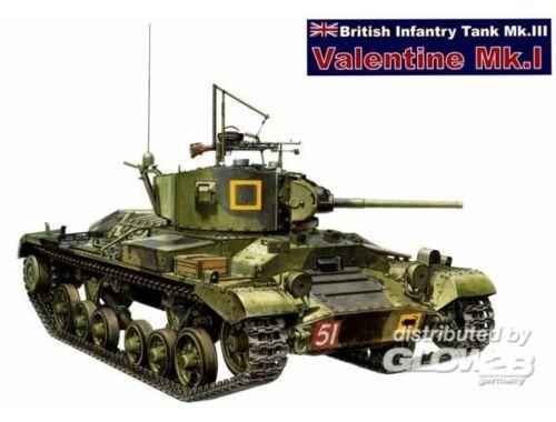 AFV Club Valentine Mk.I British Tank 1:35 (AF35178)