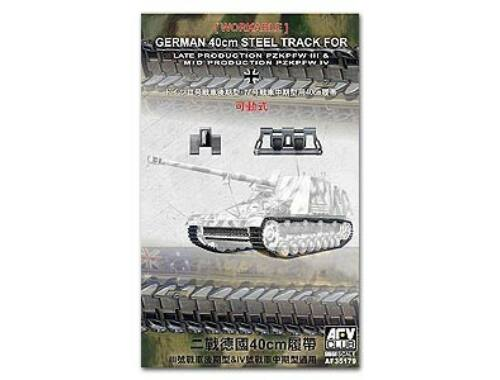 AFV Club 40cm Workable Tracks for tank III/IV 1:35 (AF35179)