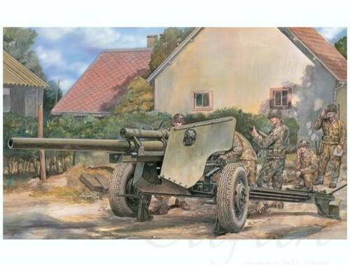 AFV Club U.S. 3 inch Gun M5 on Carriage M6 1:35 (AF35181)