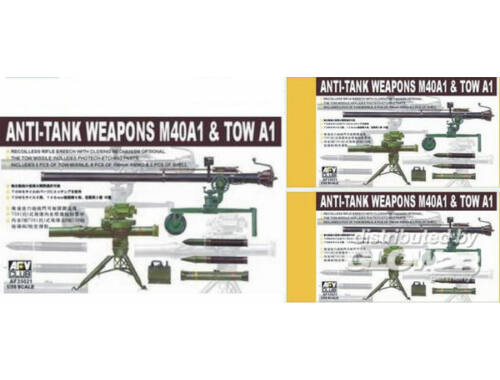 AFV Club 106 mm   TOW / ANTITANK WEAPONS 1:35 (AF35021)