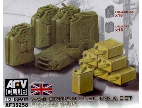 AFV Club WWII British fuel tank set 1:35 (AF35258)