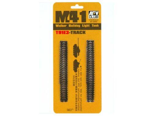 AFV Club M-41/M-42 T91E3 TRACKS (SOFT Rubber) 1:35 (AF35052)