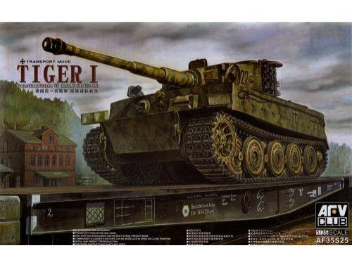 AFV Club Tiger I Panzerkampfwagen VI E Sd.Kfz.181 1:35 (AF35S25)