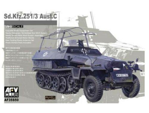 AFV Club Sdkfz 251/3 Ausf C (limited serie) 1:35 (AF35S50)