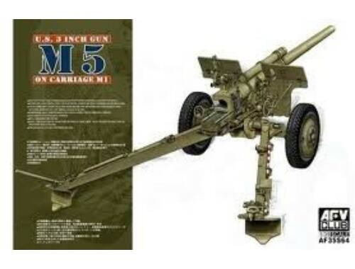 AFV Club 3in Gun M5 On Carriage M1 1:35 (AF35S64)