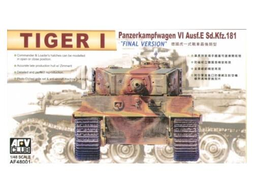 AFV Club Tiger I Ausf. E final version 1:48 (AF48001)