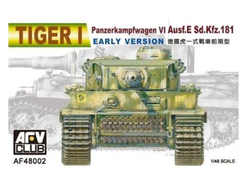 AFV Club Tiger I Ausf. E early version 1:48 (AF48002)
