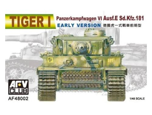 AFV Club Tiger I Ausf. E early version 1:48 (AF48002)
