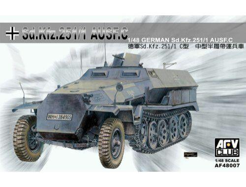 AFV Club SDKFZ 251 Ausführung C 1:48 (AF48007)