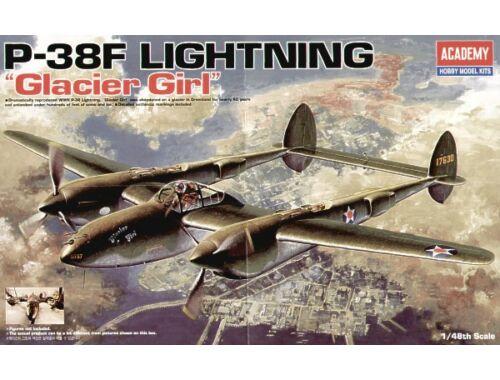 Academy P-38F Lightning Glacier Girl 1:48 (12208)