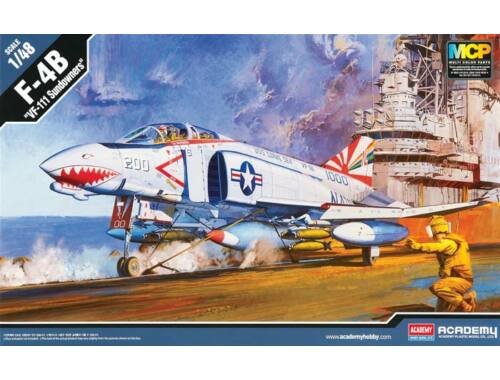 Academy F-4B VF-111 Sundowners 1:48 (12232)
