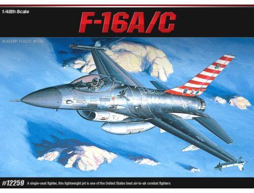 F-16A/C Fighting Falcon (1/48)