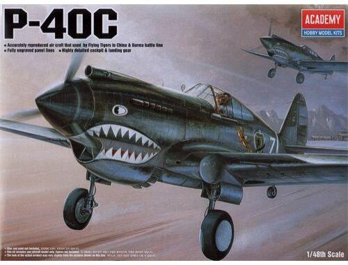 Academy P-40C Tomahawk 1:48 (12280)
